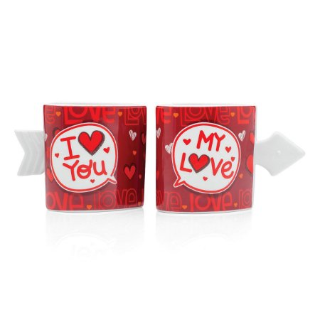 Caneca dupla: I love you my lve