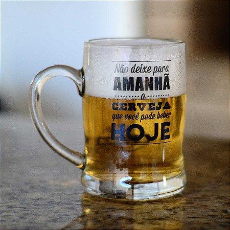 Caneco de cerveja Amanhã