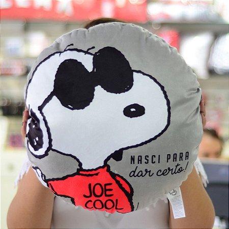 Almofada Snoopy Nasci para dar certo
