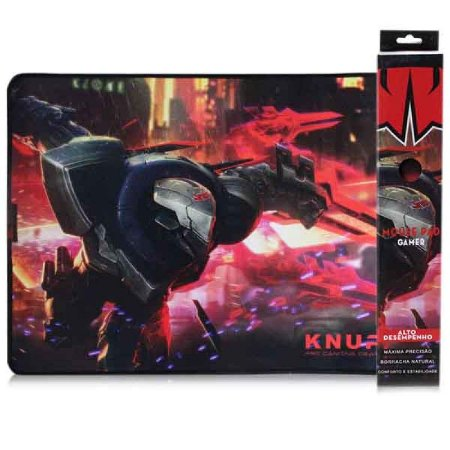 Mouse Pad Gamer Com Costura Knup KP-S07 420X320X3 MM Speed