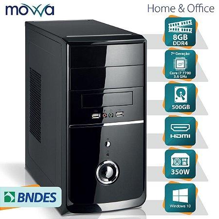 COMPUTADOR NITRO INTEL I7 7700 3.6GHZ 7ª GERAÇÃO MEMORIA 8GB HD 500GB FONTE 350W HDMI WINDOWS 10 PRO - MVNII7H1105008W