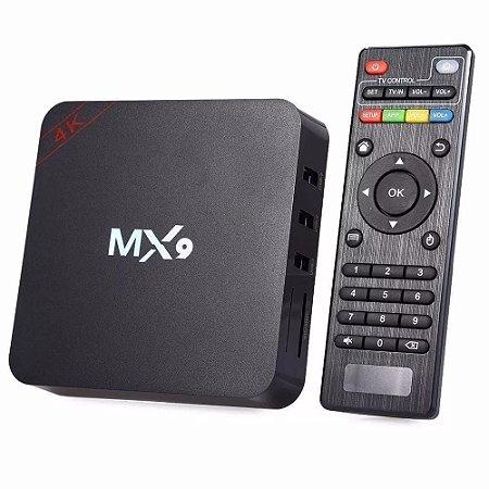 Tv Box Mx9 4k 2gb Ram 16 gb Rum Android 8.1 Youtube Netflix