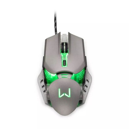 Mouse Gamer 3200 DPI Grafite Warrior - MO268