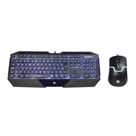 KIT TECLADO E MOUSE USB GAMER GK1100 PRETO