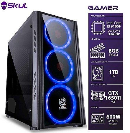COMPUTADOR GAMER 3000 - I3 9100F 3.6GHZ 9ª GER. MEM. 8GB DD