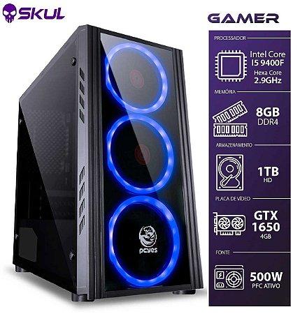 COMPUTADOR GAMER 5000 - I5 9400F 2.9GHZ 9ª GER. MEM. 8GB DD