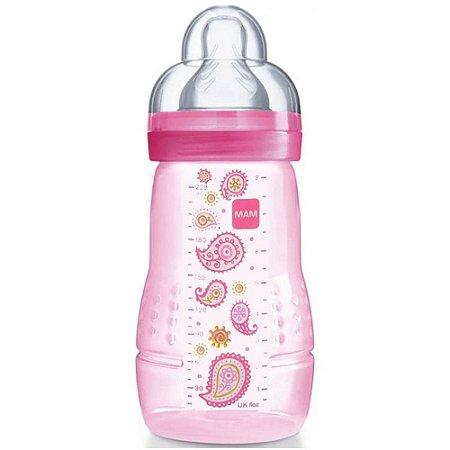 Mamadeira Fashion Bottle Girls 220ml Mam Baby