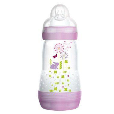 Mamadeira First Bottle Coelho 260ml Mam Baby