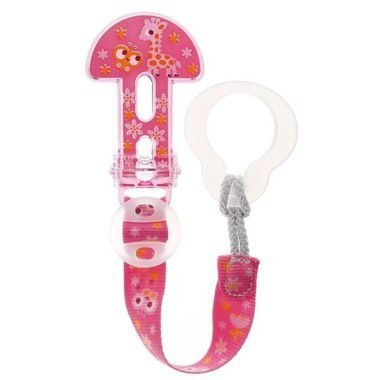 Prendedor de Chupeta Clip It! Girafa Mam Baby