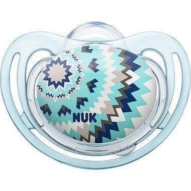 Chupeta Freestyle Boy Azul Tam.3 (18 meses+) NUK