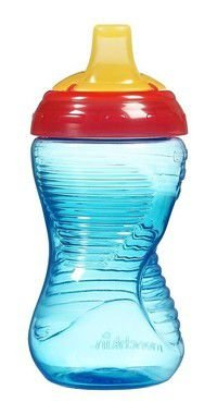 Copo com Bico Mighty Grip Azul e Vermelho Munchkin