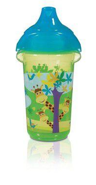 Copo com Bico Sippy Verde Girafa 266ml Munchkin