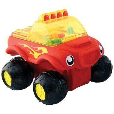 Caminhão Divertido de Banho Vermelho Munchkin
