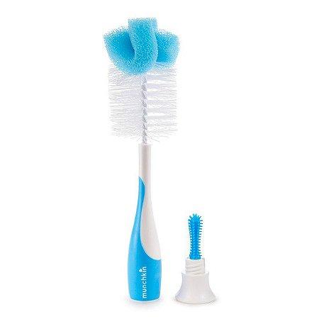 Escova de Mamadeira Azul Munchkin