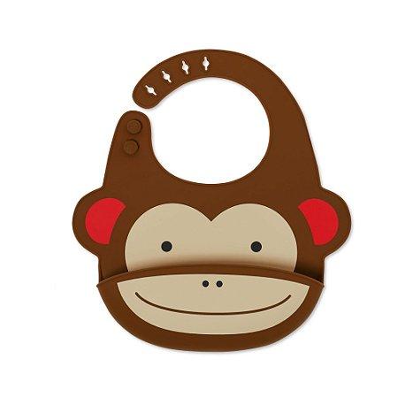 Babador de Silicone Zoo Macaco - Skip Hop