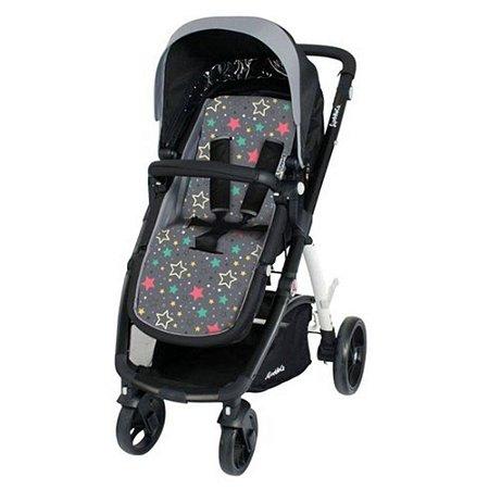 Almofada para Carrinho De Bebê Comfi Cush Stars Colors Clingo