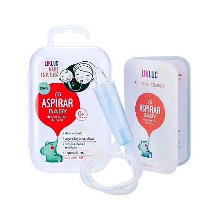 Aspirador Nasal Infantil Aspirar Baby com Estojo - LikLuc