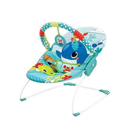 Cadeira de Descanso Infantil Musical e Vibratória Baleia - Mastela