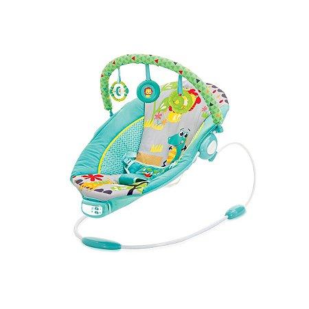 Cadeira de Descanso Infantil Musical e Vibratória Reclinio Azul - Mastela