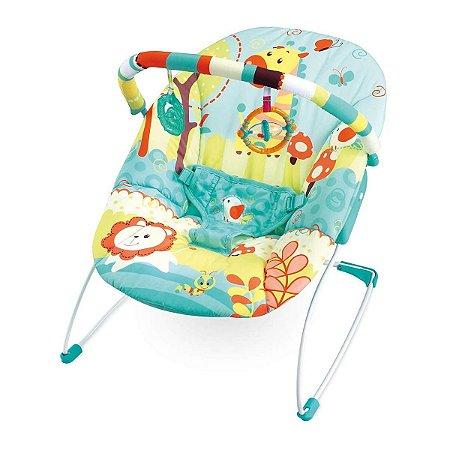 Cadeira de Descanso Infantil Musical e Vibratória Leão / Girafa - Mastela