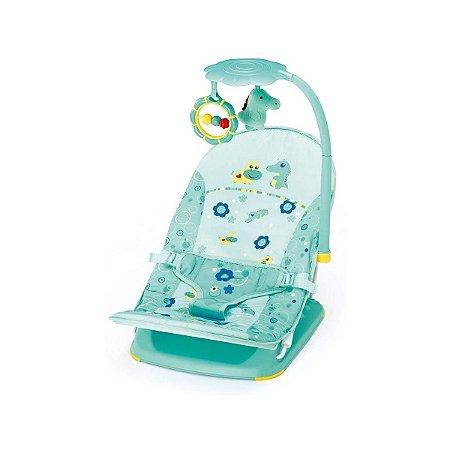 Cadeira de Descanso Infantil Para Viagem Verde Jacaré - Mastela