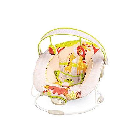 Cadeira de Descanso Infantil Musical e Vibratória Girafa Amarela - Mastela