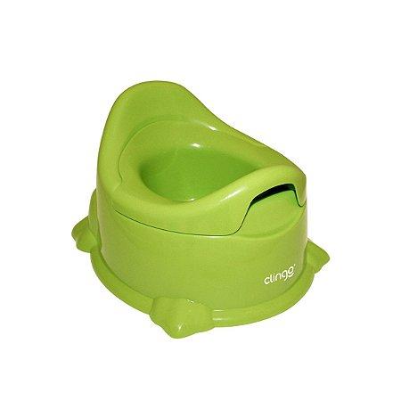 Troninho Infantil Potty Verde - Clingo