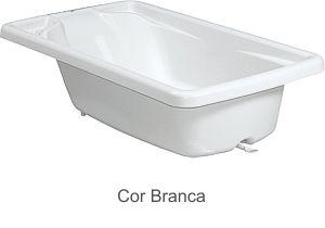 Banheira de Bebê Rigida Branco - Burigotto