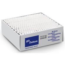 Giz escolar (plastificado) Branco Com 500 Palitos - Dubom