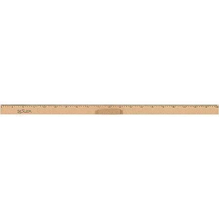 Régua de madeira (mdf) Regua 1,00mt - Souza