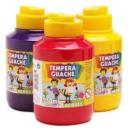 Tinta guache (250 ml) - Acrilex