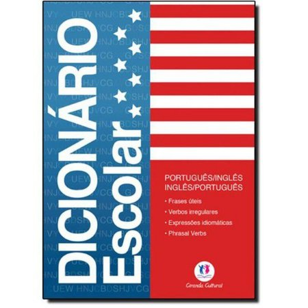 Dicionário (português/inglês) Escolar Completo - Ciranda