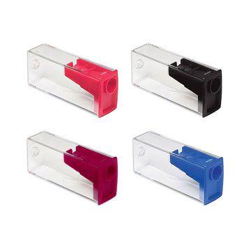 Apontador (c/ depósito) Transparente Color Grande - Faber-Castell