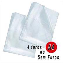 Envelope plástico A4 Médio 0,12mm PCT C/100- ACP