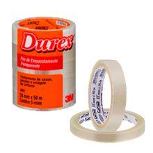 Fita adesiva Durex Transparente - 3M