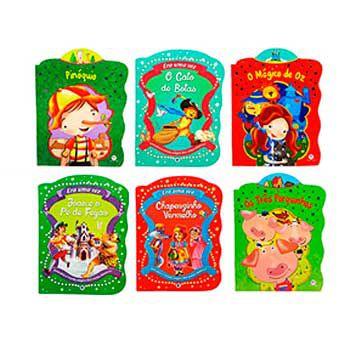 Livro infantil Contos Clássicos (Temas Sortidos) - Magic Kids