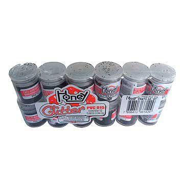 Gliter PVC Pote 3g.  1 Unid. - Honey