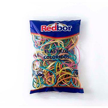 Elastico colorido - Super 100g - Colorido - Red Bor