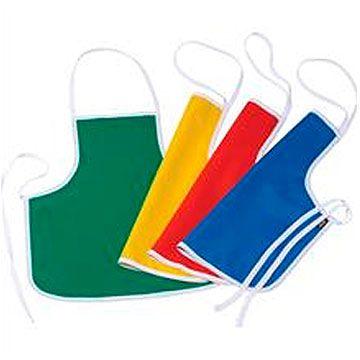 Avental escolar (liso) Infantil Colorido Sortido - Acp