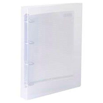 Fichario em PVC Transparente 4 Argolas