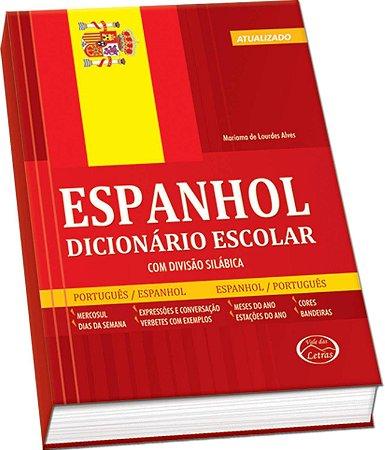 Dicionario escolar Espanhol/Port. 480pgs - Vale Das Letras