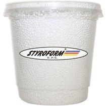 Perolas de isopor 750ml branco - Styroform