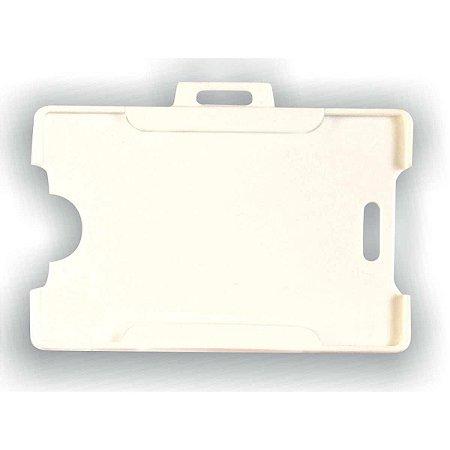 Cracha (protetor) Plastico Branco 54x86mm - Reflex - Unidade