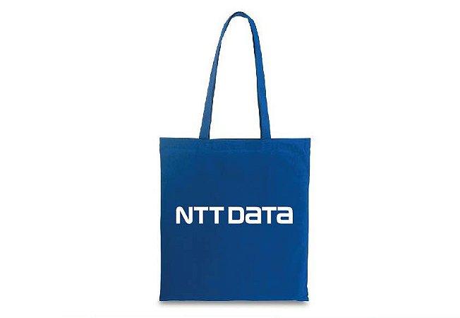 Sacola algodão NTT DATA