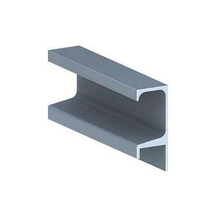 Perfil puxador em alumínio com 3 metros