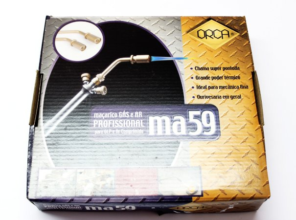 "MAÇARICO ""ORCA"" ma59-Gás e Ar Comprimido cod:1221"