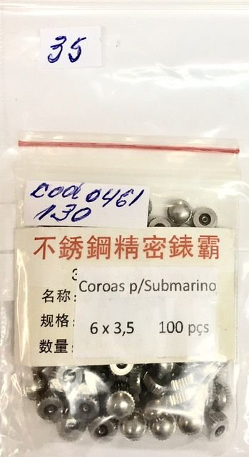 COROA OR. SUBMARINO  cod:461