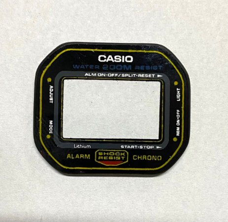 VIDRO CASIO G-SHOCK 200MTS SÉRIE OURO cod:3020