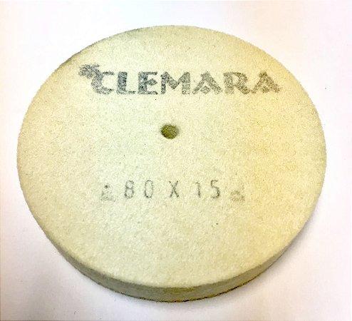 RODA DE FELTRO CLEMARA 80 X 15MM  cod:73