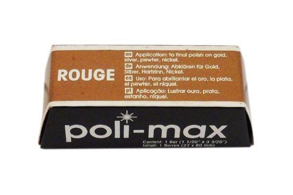 "MASSA ""POLI-MAX"" ROUGE  100g     cod:979"